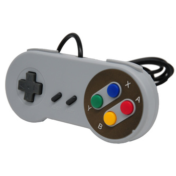 Retro Kablolu USB Controller Gamepad SNES Için Stil Için PC Windows 7/8/10 Oyun Joypad Joystick Için mac Sistemi