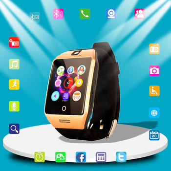 Bluetooth Smart Watch Men With Touch Screen Big Battery Support TF Sim Card Camera for Android Phone Sport watch