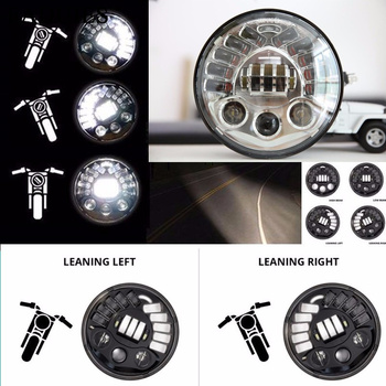 "FADUIES 7 ""Projeksiyon Adaptif Led Far Için Harley Motosiklet Için BMW R NineT R9T 7 inç LED Far"